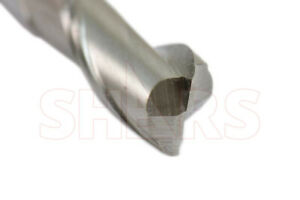 "SHARS 3//8/"" HSS 2 Flute Single End Mill NEW 1"