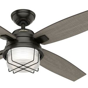 52 Hunter Outdoor Ceiling Fan Noble Bronze