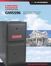 goodman natural gas furnace. goodman 96% single stage 60k btu gas furnace 3 ton gmss960603bn natural