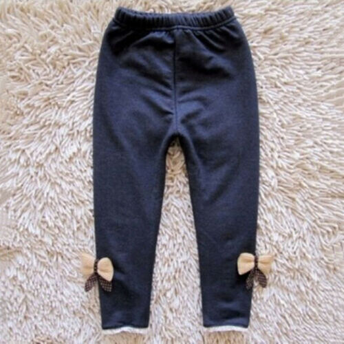 Kleinkind Kinder Baby Mädchen Warm Stretchy Jeans Hosen Kindermode Leggings G2