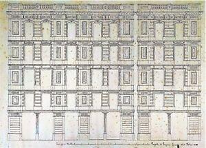 PROJET-DE-GRANDE-FACADE-ENCRE-SUR-PAPIER-JOAQUIN-CARCERENY-ESPAGNE-1890