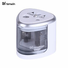 Student Automatic Electric Pencil Sharpener With 2 Holes 6 8mm 9 12mm J2h6