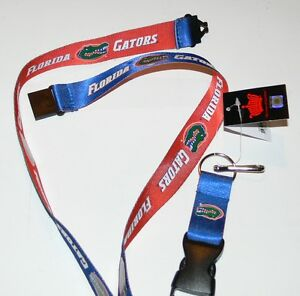 Orange NCAA Florida Gators Team Lanyard