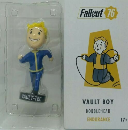 Fallout 76 Vault Boy Bobblehead Endurance-Collectible Figure-New /& Boxed