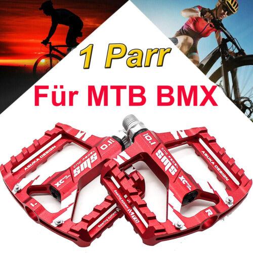 1 Paar Fahrrad Pedale Aluminium Alu Plattform MTB Trekking e-Bike Industrielager