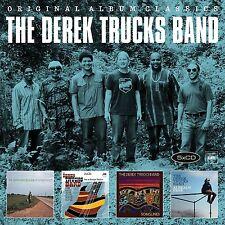 THE DEREK TRUCKS BAND - ORIGINAL ALBUM CLASSICS  5 CD NEU