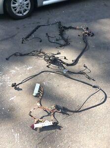 bmw e60 e61 525i 530i 5 series engine wire harness loom  bmw 530i engine module wiring #4