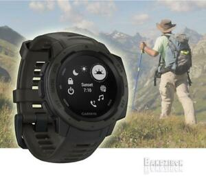 Details about Garmin Instinct Graphite Running MultiSport Tactical GPS  Sport Watch HRM Outdoor