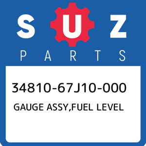 34810-67J10-000-Suzuki-Gauge-assy-fuel-level-3481067J10000-New-Genuine-OEM-Part