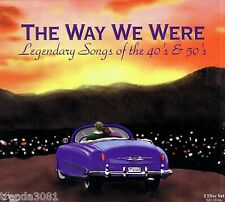 THE WAY WE WERE Legendary Songs 40s 50s 2CD Classic Greatest Rock AMES BROTHERS