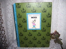 WALT DISNEYS AMERICA STORYBOOK UNCLE REMUS DAVY CROCKETT OLD YELLER 1965