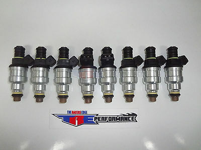 TRE 42LB/HR Fuel Injectors Fit Bosch Chevy Ford V8 LS1 LT1 5.0L EV1 440cc/min 8