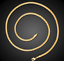18k-Goldkette-50cm-Pankerkette-4MM-vergoldet-Geschenk-Damen-Herren-Halskette-GK9 Indexbild 3