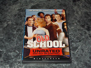 Old School DVD 2003 Widescreen Unrated Version - Benton Harbor, Michigan, United States - Old School DVD 2003 Widescreen Unrated Version - Benton Harbor, Michigan, United States