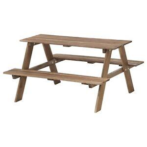 IKEA Solid Acacia Hard Wood Timber Outdoor Garden Kids ...