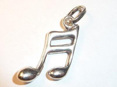 Musik, Note, 925 Silber Anhänger, #6327   eBay