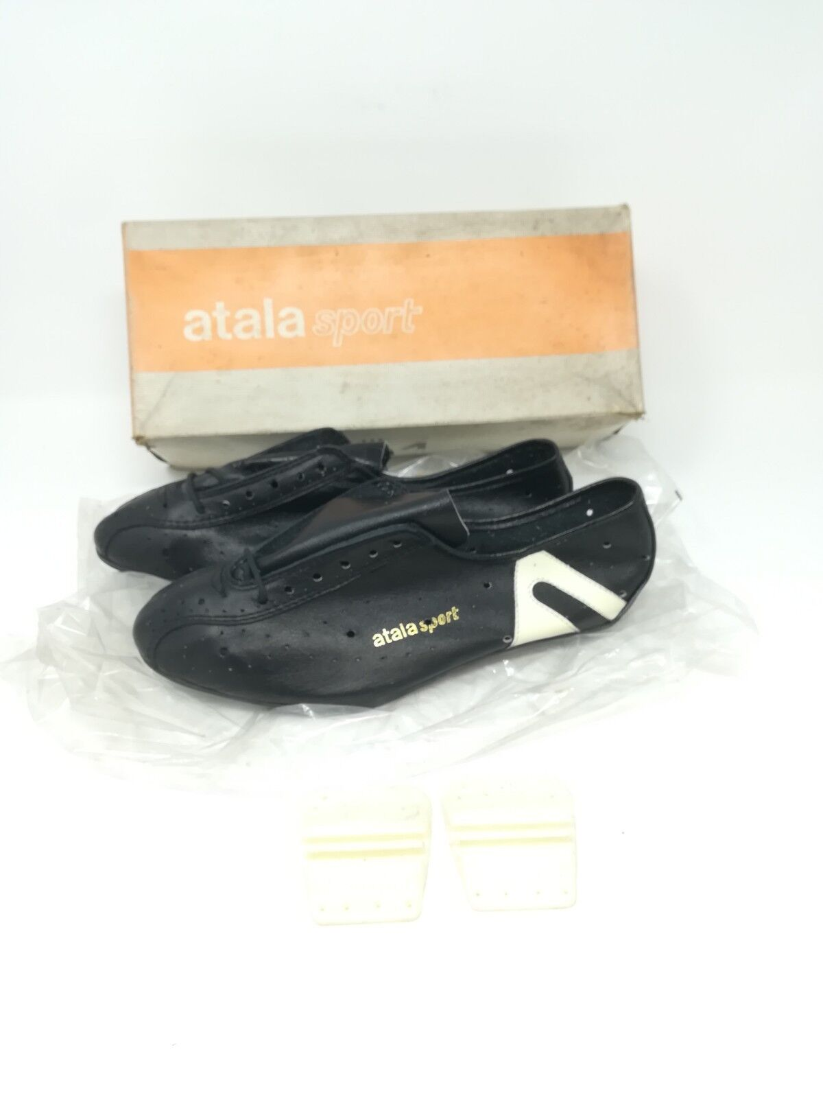 Vintage schuhe ciclismo cycling schuhe  Atala sport 39 NOS