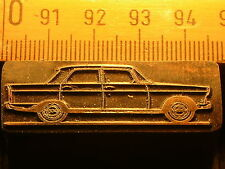 PEUGEOT 404   schöner Oldtimer Stempel / Siegel aus Metall