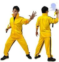 Vintage Bruce Lee Classic Yellow Game Of Death Kill Bill Tracksuit Ninja Uniform