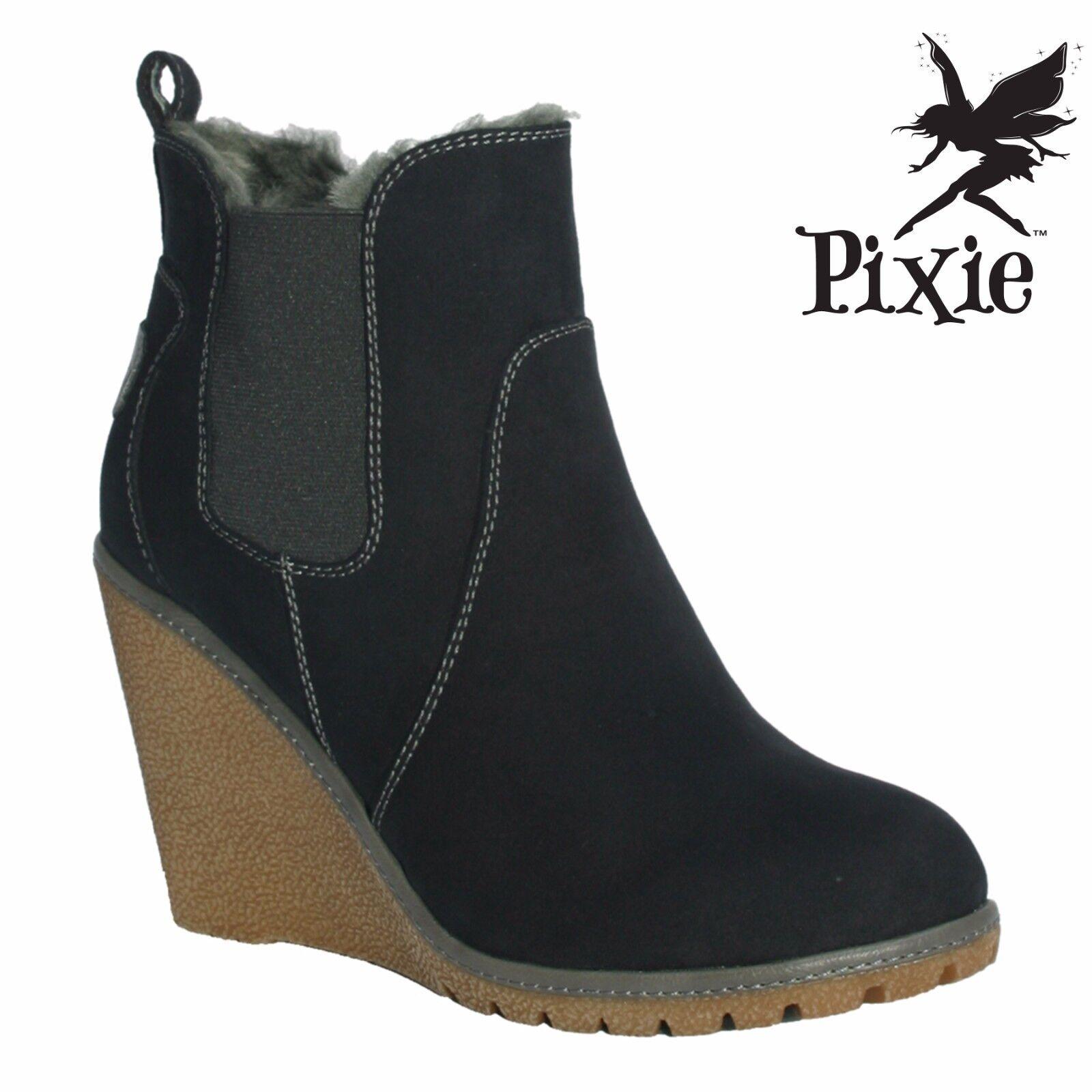 Pixie calzado Izzy Damas botas. UK UK UK Tamaños 3 - 8 Nuevo En Caja  Tu satisfacción es nuestro objetivo