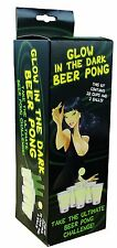 Glow in the Dark Beer Pong Game, drinking game ping pong balls 27454