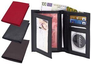 Portefeuille-cuir-veritable-Porte-monnaie-cartes-Homme-Femme