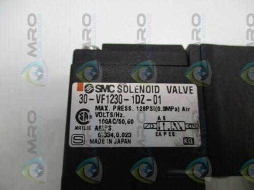 NEW NO BOX * Details about  /SMC 30-VF1230-1DZ-01 SOLENOID VALVE