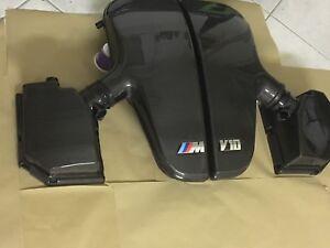 BMW  E60 E61 E63 M5 M6  Airbox Carbon Luftsammler Air Intake System M5 M6