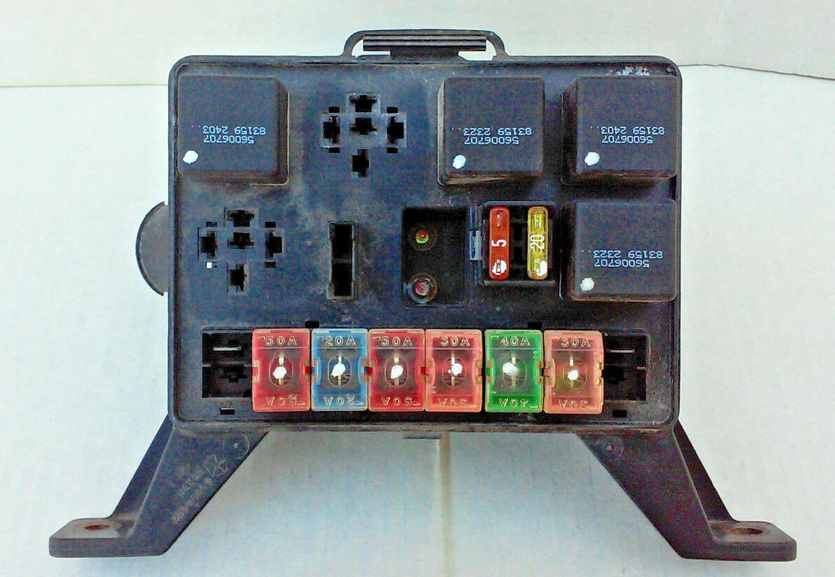 94 dodge dakota under hood fuse box - with fuses and relays as pictured |  ebay  ebay