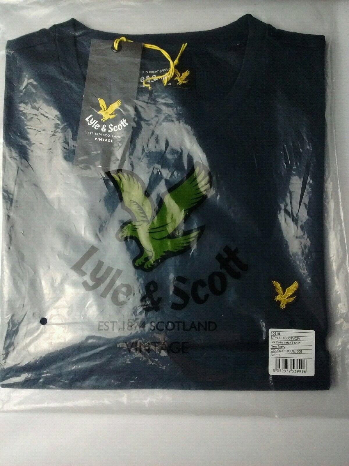 Lyle Foncé T Neuf Shirt Et Avec Vert Scott Large Étiquettes CxCwZnqAR