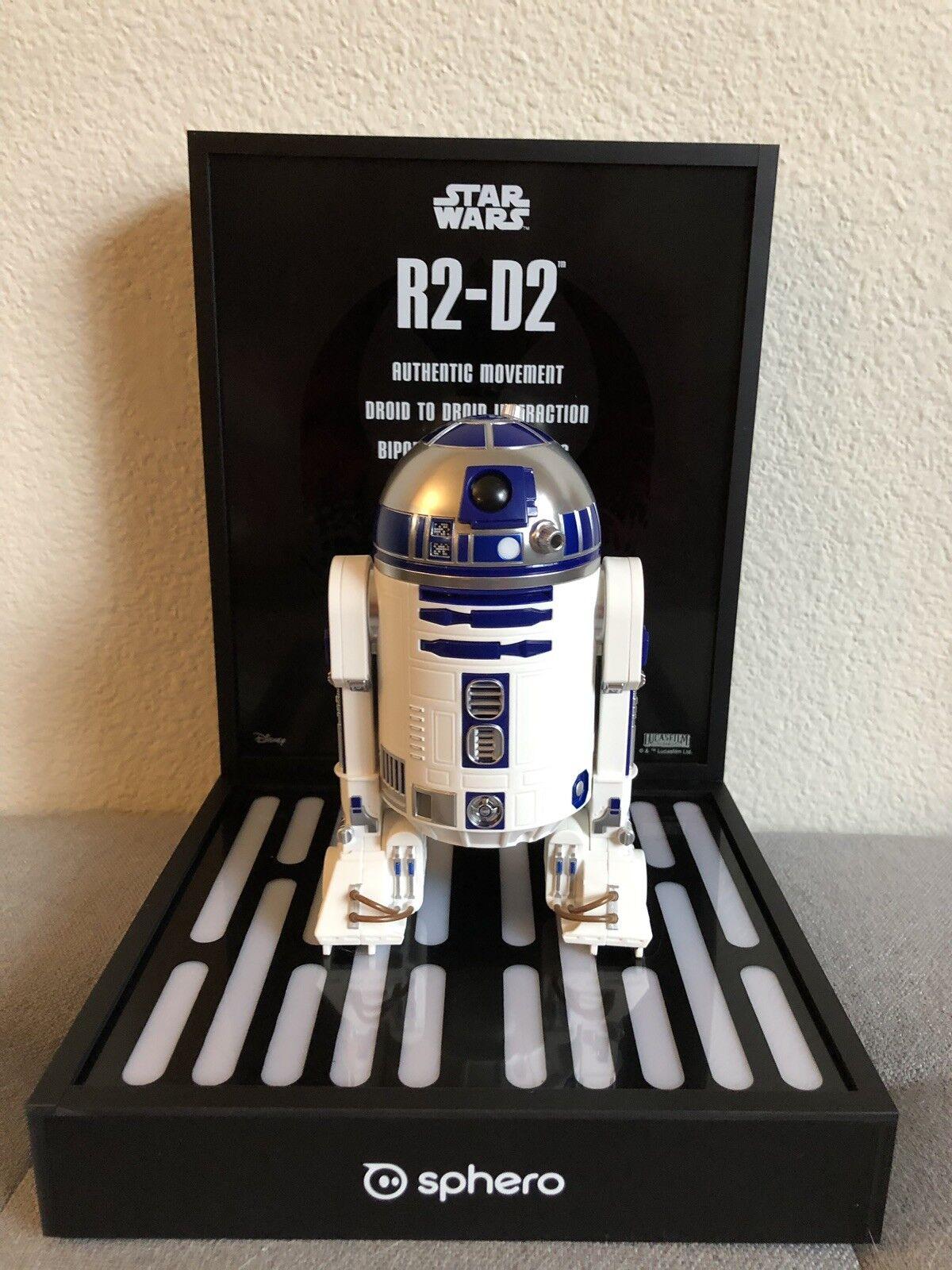 Star wars sphero droiden r2 - d2 spielzeugladen zeigt r2d2 selten