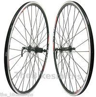 Alex (xlc) Pave 700c Road Bike Black Wheelset Shimano 8 9 10 Speed Front & Rear