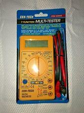 Cen Tech 7 Function Digital Multimeter Multi Tester