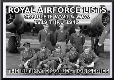 82 Volumes WW2 British Army Lists 1939-1945 searchable World War Two  2 DVDs