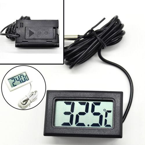 Thermometer mit wasserdichter Sonde Mini LCD Tester Zubehör Langlebig Werkzeug