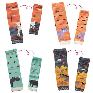 2x Cartoon Animal Pattern Toddler Baby Kids Leg Warmers Cotton Legging Boot Sock