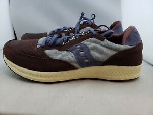 Hommes 4 9 Freedom Us Runner Gris Saucony r2 Marron Bleu aS1wpxq