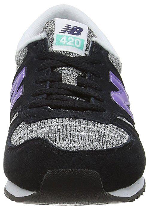 new concept 15fce ea70e New balance para mujer 420 Low Top de Superdry Zapatos Tenis Negro Púrpura  wl420kic UK8 32f6cd - dequijotesyrugby.es