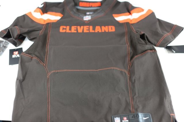 Nike Cleveland Browns Blank Color Rush on Field Sz 40 Dawg Pound Jersey
