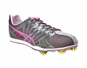 8357658c32e1 Image is loading New-Asics-Women-039-sSpivey-LD-Running-Spikes-