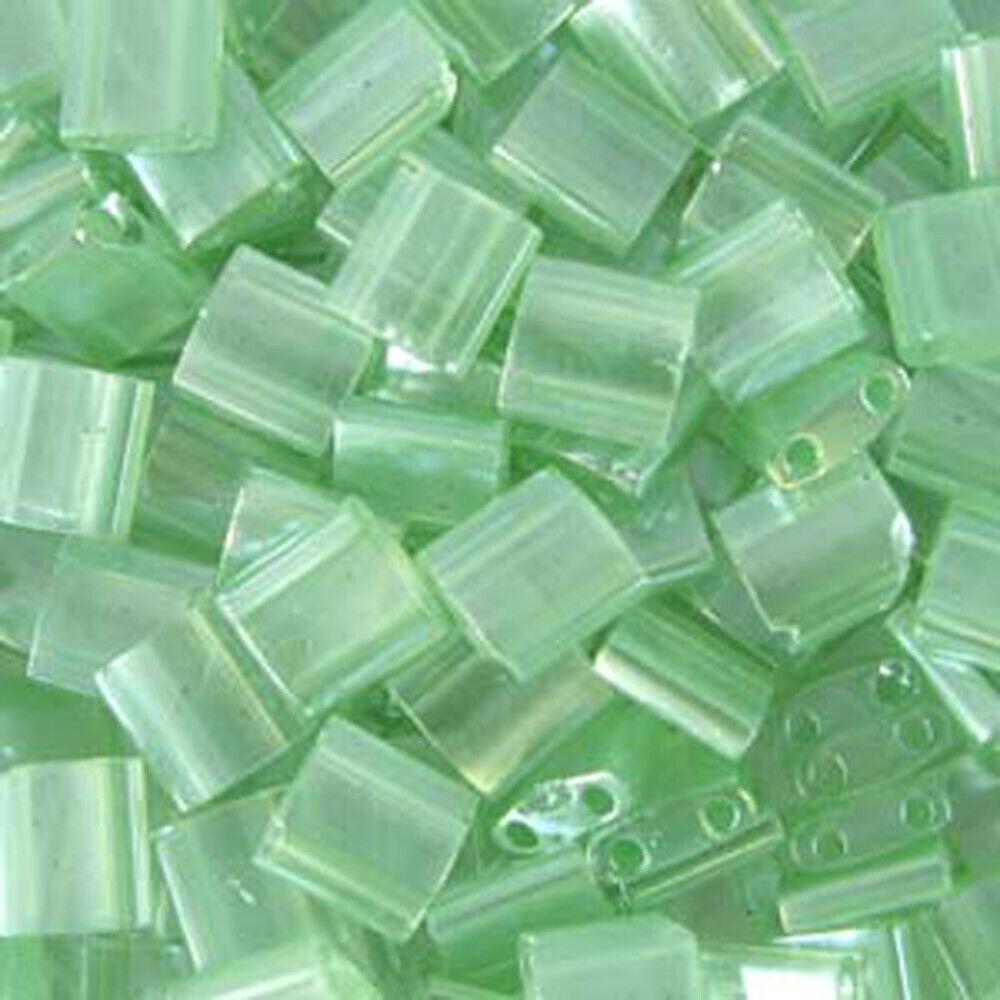 40pcs Miyuki Tila Square Two Hole Beads 5x5mm You Pick Blue//Green//Turquoise//Aqua
