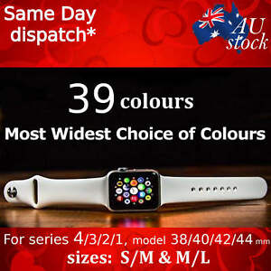 Apple-Watch-Series-4-3-2-1-Sports-Silicone-Bracelet-Strap-Band-iWatch-38-42-mm