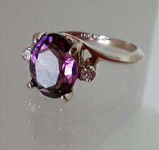 14kt GE ESPO purple ring sz 6 1/2