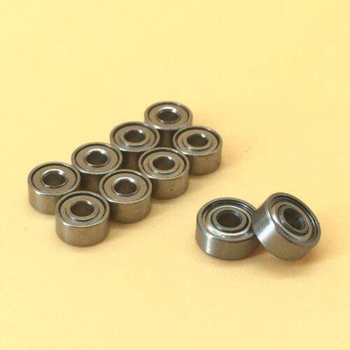 10pcs Metal Sealed Ball Bearing For TEAM LOSI MICRO T SN-T