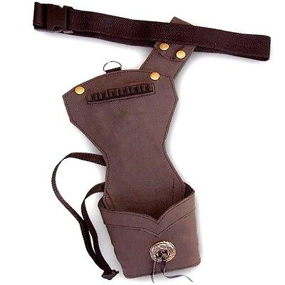 CAROL SYNTHETIC LEATHER SIDE//HIP ARROW QUIVER SAQ142 R//H BLACK