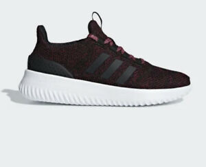 adidas CloudFoam Ultimate Women's Trainers Sneakers Shoes Black ...