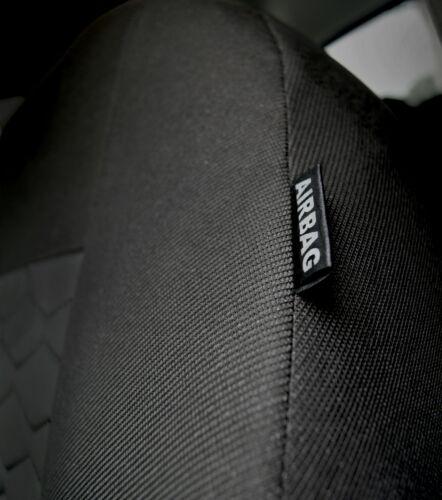 Nissan Juke Schwarz Universal Sitzbezüge Sitzbezug Auto Schonbezüge MODERN