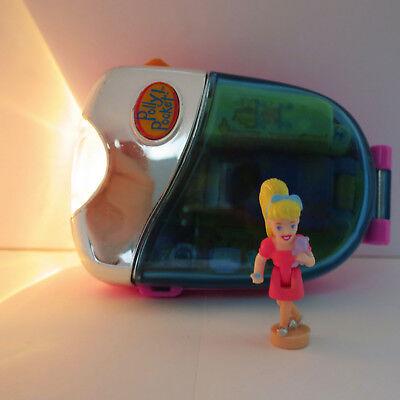 Mini Polly Pocket Flashlight Taschenlampe Schlafzimmer Licht Puppe Mit Teddybär Soft And Antislippery Spielzeug
