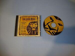The-Lion-King-Original-Broadway-Cast-CD-Nov-1997-Walt-Disney