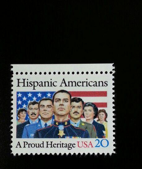 1984 20c Hispanic Americans, A Proud Heritage Scott 210